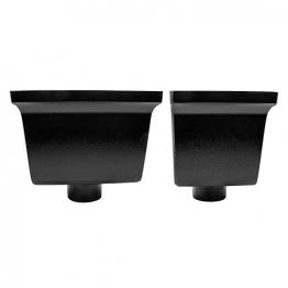 Alutec Flush Fit 63mm Hopper Standard Heritage Black