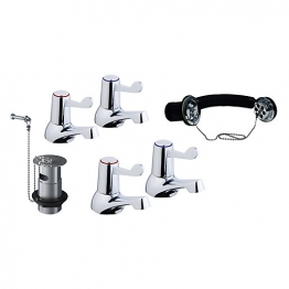 Lever Taps And Wastes For Basin/bath