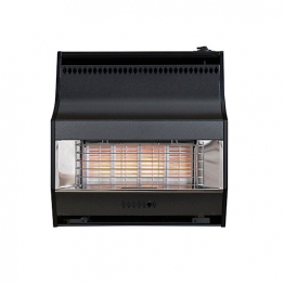 Valor Fire Lite Radiant Electronic 4 Gas Fire Black
