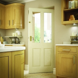 Malton Hardwood Veneer External Door 1981 X 762 X 44mm