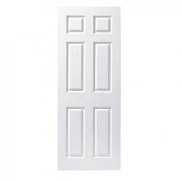 Moulded 6 Panel Smooth Fd30 Internal Fire Door 1981mm X 762mm X 44mm
