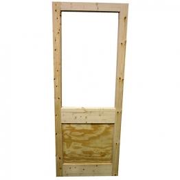 External Redwood 2xg Unglazed Door 1981mm X 838mm X 44mm