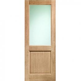 External Redwood 2xg Unglazed Door 2032mm X 813mm X 44mm