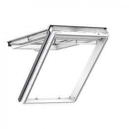 Velux Top Hung Roof Window 940mm X 1400mm White Polyurethane Gpu Pk08 0060
