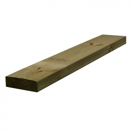Sawn Timber Regularised Treated C16 47mm X 150mm X 2.4m