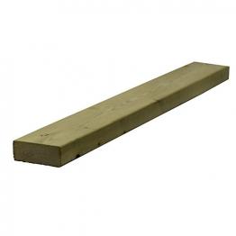 Sawn Timber Regularised Treated C16 47mm X 125mm