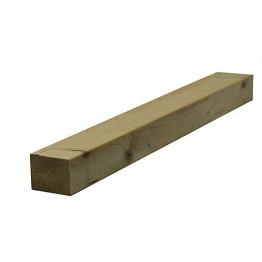 Sawn Timber Regularised Treated C16 75mm X 100mm X 4.8m
