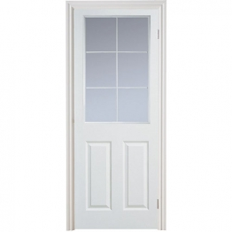 Moulded 6 Panel Grained Hollow Core Internal Door 1981mm X 686mm X 35mm
