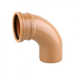 Osmadrain Drainage Single Socket Short Radius Bend 87degree 110mm 4d161
