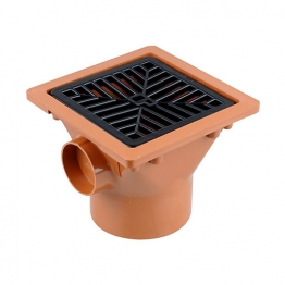Osmadrain Drainage Solvent Socket Plain Hopper 110mm