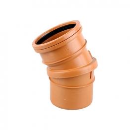 Osmadrain Drainage Single Socket Adjustable Bend 0-30degree 110mm