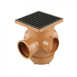 Osmadrain Drainage 110 Single Socket Bottle Gully Open 4d901