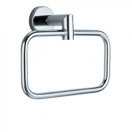 Vitra Minimax Stylish Chrome Towel Ring