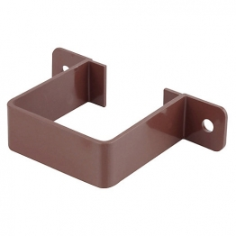 Osma Squareline 4t834 Pipe Bracket 61mm Brown
