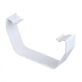 Osma Squareline 4t816 Gutter Flexiclip (spare) 100mm White
