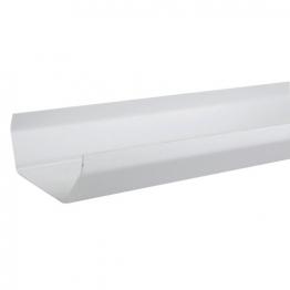 Osma 4t872w Squareline Gutter White 2m