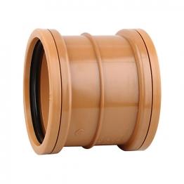 Osmadrain 160 Double Socket Slip Coupler 6d105