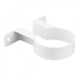 Osma Roundline 0t034 Pipe Bracket 68mm White
