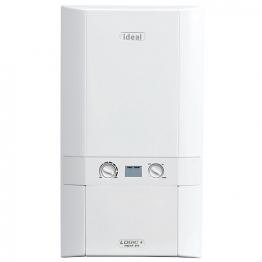 Ideal Logic Plus 30kw Heat Only Boiler & Standard Horizontal Flue Pack Erp