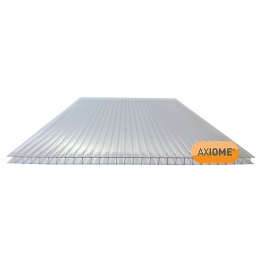 Axiome Clear 6mm Twinwall Sheet 1050mm X 3000mm