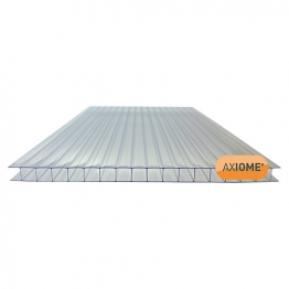 Axiome Clear 10mm Twinwall Sheet 690mm X 5000mm