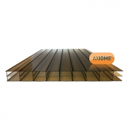 Axiome Bronze 16mm Polycarbonate Sheet 1400mm X 4500mm