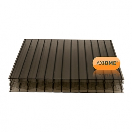 Axiome Bronze 25mm Polycarbonate Sheet 1250mm X 3000mm