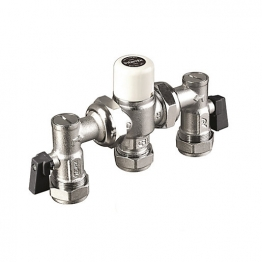 Intamix Mx22mm Cp Tmv3 Complete With Isolating Ball Valve