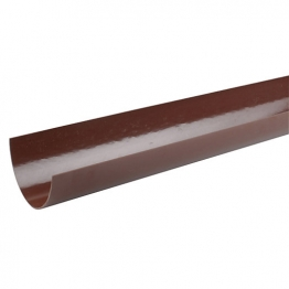 Osma Roundline 0t074 Gutter 112mm Brown 4m