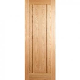 Oak Ripon 3 Panel Fd30 Internal Fire Door 1981mm X 762mm X 44mm