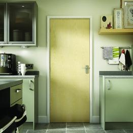 Flush Ash Veneer Hollow Core Internal Door 1981mm X 610mm X 35mm