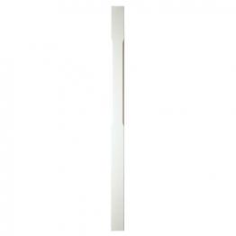 Richard Burbidge Trademark White Stop Chamfer Newel Post 1500 90 Scnp1500/90w