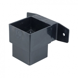 Osma Squareline 4t824 Pipe Connector And Bracket Stand Off 61mm Black