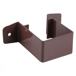 Osma Squareline 4t833 Pipe Bracket Stand Off 61mm Brown