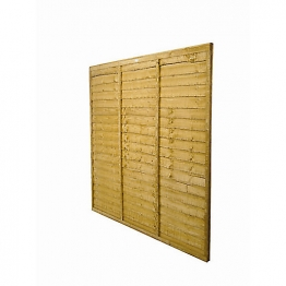 Trade Lap Dip Treated Fence Panel 1828mm X 1828mm