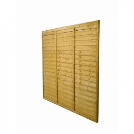 Trade Lap Dip Treated Fence Panel 1828mm X 1524mm
