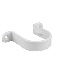 Osma Pvc-c 32mm Solvent Weld Waste Pipe Bracket 4m081 White