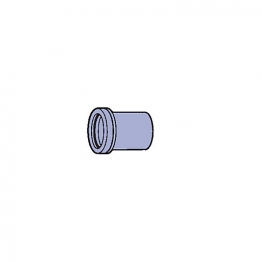 Osma Pvc-c 40mm Solvent Weld Waste Expansion Socket 5m124 White
