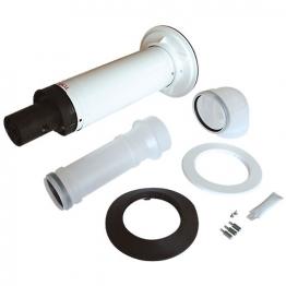 Worcester Bosch 7716191155 Floorstand 100mm Telescopic Horizontal Flue Kit