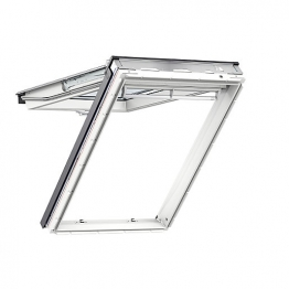 Velux Top Hung Roof Window 550mm X 980mm White Polyurethane Gpu Ck04 0034