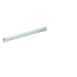 Homelux Kitchen Worktop Trim Straight Joint Kit Satin Alumin 630mm No17