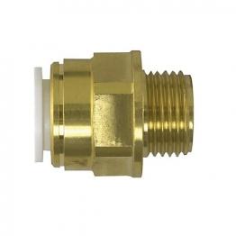 Jg Speedfit Brass Male Coupler 22mm 3/4inch Bspt