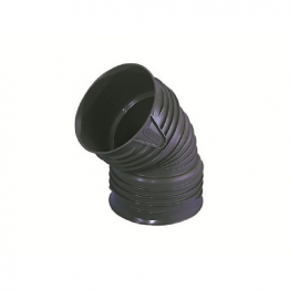 Osma Twinwall Drainage 150mm Dual Socket Bend 45deg 6tw563