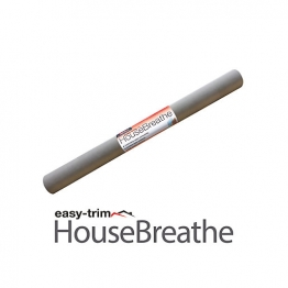 Easytrim 2.7m X 100m Easytrim House Breathe W2 Grey