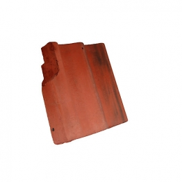 Redland Grovebury Left Hand Cloaked Verge Farmhouse Red Roofing Tile