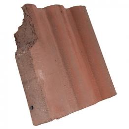 Redland Regent Left Hand Cloaked Verge Breckland Brown Roofing Tile
