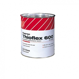 Fosroc Thioflex 600mm Concrete Joint Sealant 2.5l Grey Gun Grade 2486320