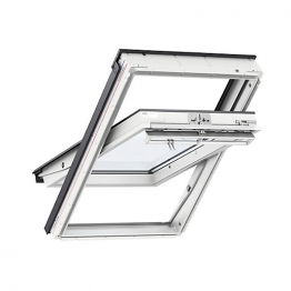Velux Centre Pivot Roof Window 780mm X 1400mm White Painted Ggl Mk08 2066