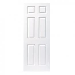 Moulded 6 Panel Grain Midweight Internal Door 1981mm X 762mm X 35mm