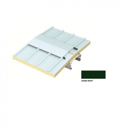 Trapezoidal Roof Fixing To Timber (juniper Green)